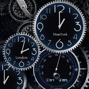 black clock live wallpaper hd v1 05 black clock live wallpaper hd android apps on google play