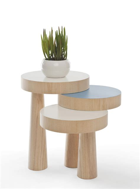 decorating idea flank table modern versatile toad side table exploring new forms of stability