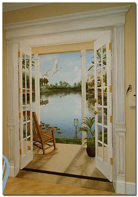 Greek Style Home Interior Design by Trompe L Oeil Trompe L Oeil By Art Effects