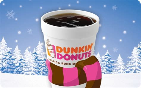 Dunkin Donuts Gift Card - seasonal dunkin donuts cards mgifts great last min gift idea coffee pinterest
