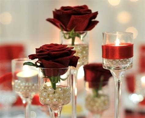 wedding centerpieces with candles and pearls wedding centerpieces pretty pearls elevated votive