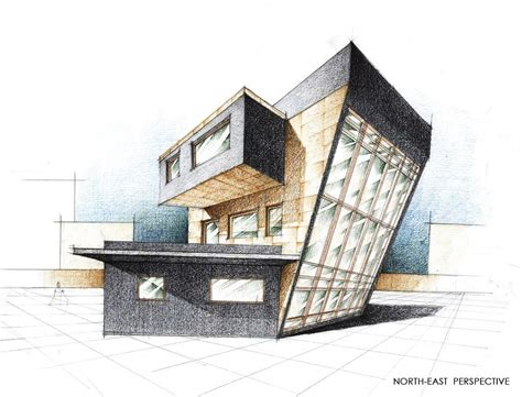 Free Architectural House Plans by House Exterior Perspective By Radu26 On Deviantart