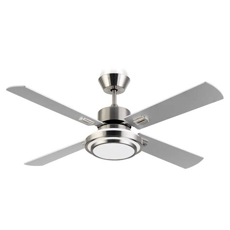 Bunnings Ceiling Fans With Lights Bunnings Arlec Arlec 130cm 4 Blade Sweep Ceiling Fan With 16w Led Light Compare Club
