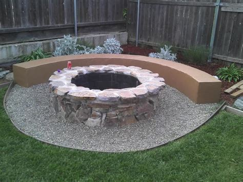 how to build a backyard fire pit with rocks build backyard fire pit easily fire pit design ideas