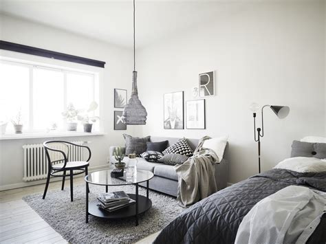 One Bedroom Apartment Living Room Ideas Beautiful Home In Grey Coco Lapine Designcoco Lapine Design