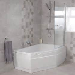 Shower Baths 1500 Trio 1500 X 1000 Right Hand Shower Bath