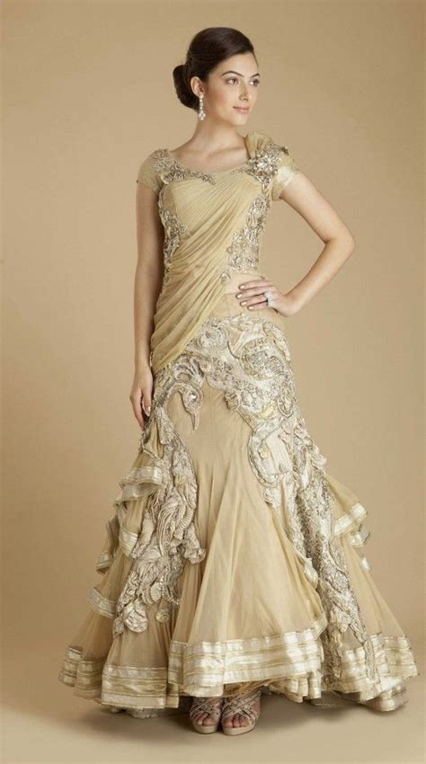 wedding bridal hairstyle eastern western new fashion indo western wedding gowns indo western bridal gowns