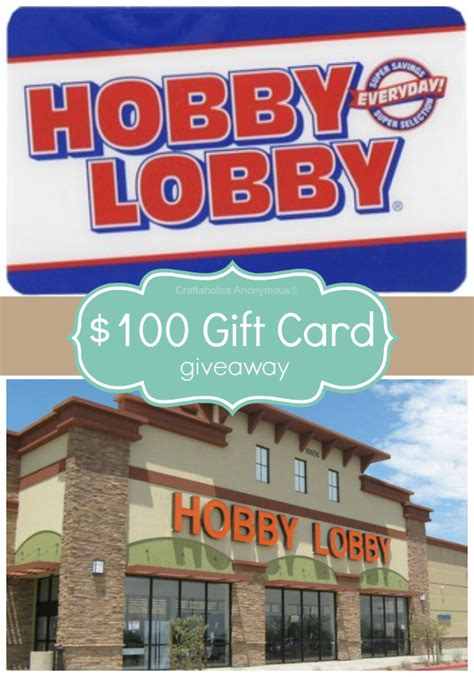 Hobby Lobby Gift Cards Online - craftaholics anonymous 174 thankful for you giveaway 100 hobby lobby gift card