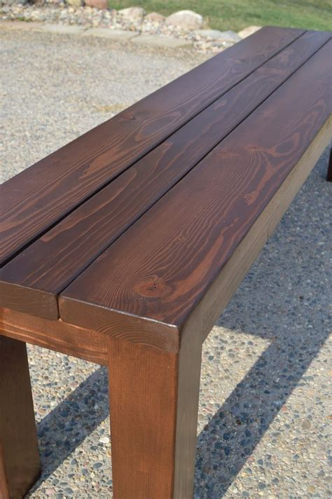 how to make a wooden bench 25 best ideas about picnic table plans on pinterest diy