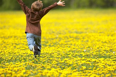 Gemstone Home Decor Young Boy Running Through Field Of Photograph By Gemstone