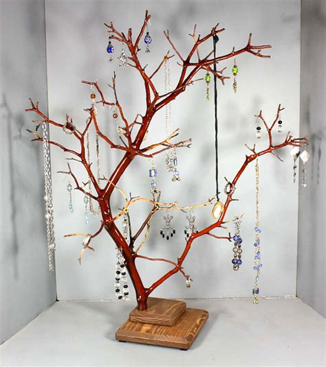 how to make a jewelry tree out of wire 20 jewelry storage options for a stylish display