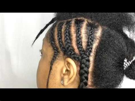 easy braid pattern for sew in my simple braiding pattern middle part sew in or quick