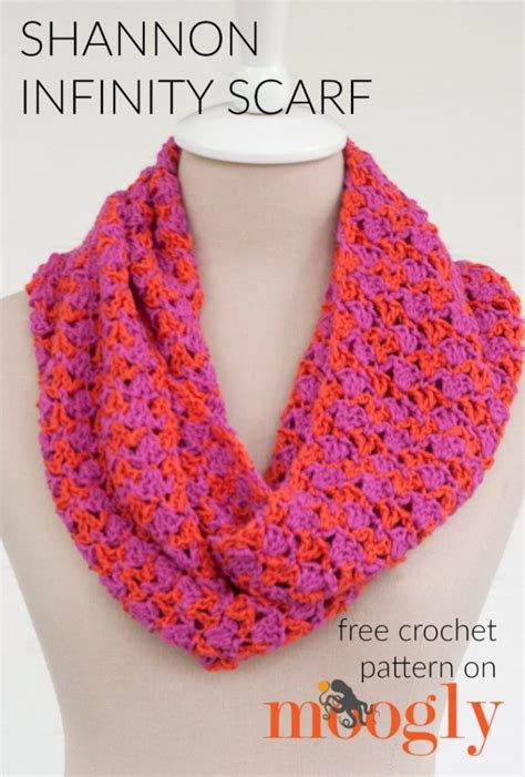 free patterns infinity scarf free crochet pattern shannon infinity scarf