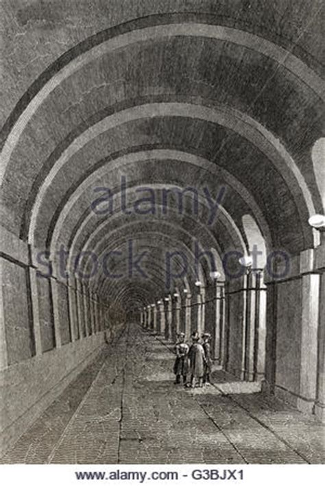 thames river tunnel thames railway tunnel stock photo royalty free image