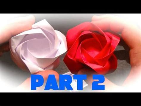 Origami Rob S World - how to make an origami part 2 finishing the