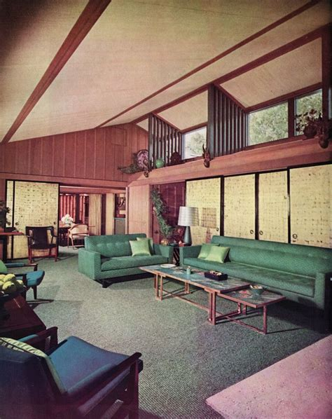 Mid Century Modern Interiors 41 Best Atriums Courtyards For Modern Homes Images On
