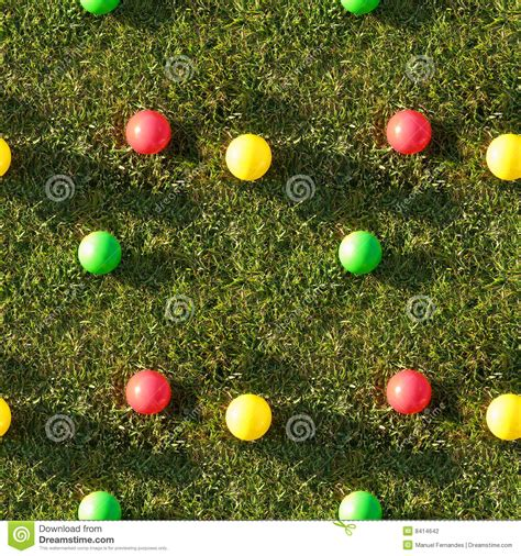 what does pattern in photography mean seamless tile pattern of grass color balls stock