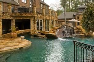 Cool Houses With Pools Cool Houses With Pools And Slides Images Amp Pictures Becuo