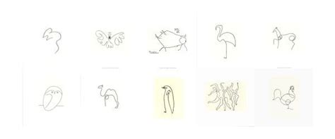 picasso line drawings and 0486241963 picasso continuous line drawings continuous line art picasso drawings and artsy