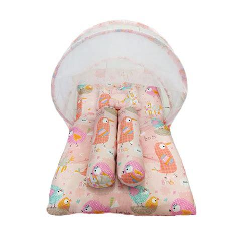 Tempat Kasur Bayi jual babybess kasur lipat kelambu bird orange tempat tidur bayi harga kualitas