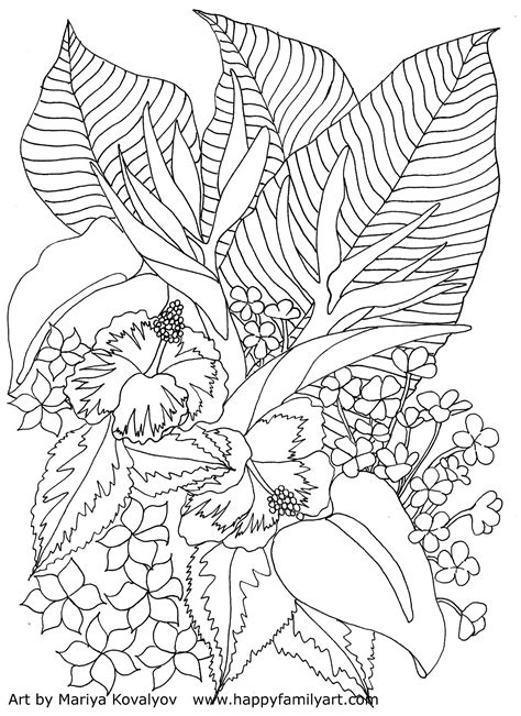 tropical landscape coloring page 8 images of tropical landscape coloring pages tropical