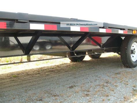 light duty gooseneck trailer gooseneck flat bed heavy duty equipment trailer 101 quot x 25