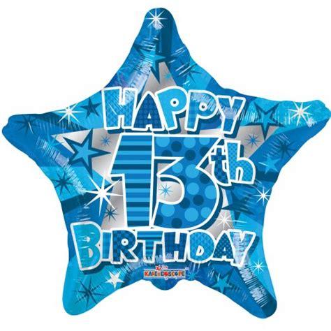 Happy 13th Birthday Boy (19601 18) Star P1