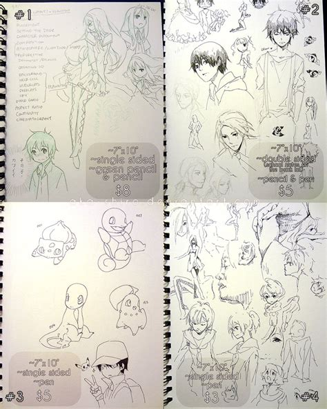 sketchbook sale sketchbook pages sale sold by aka shiro on deviantart