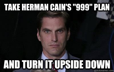 Herman Cain Meme - death stare is not working angry josh romney quickmeme