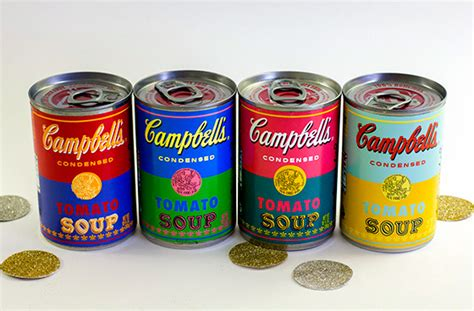 Cbell Tomato Soup Andy Warhol by Diy Cbell Soup Warhol Cans Free Printable Best 25 Cbell