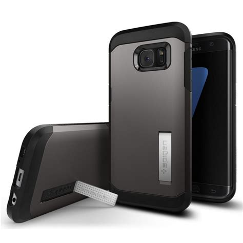 Casing Spigen Tough Armor Samsung S7 spigen funda tough armor gunmetalpara samsung galaxy