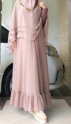 Ready Fatimah Flower Gamis Maxi Bergo Khimar Syari Bonus Bross khimar this would make a pretty bridal