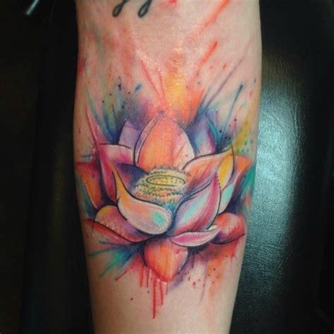 lotus tattoo number watercolor tattoo watercolor lotus tattoo