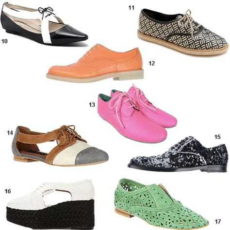 oxford style shoes womens get the look oxford shoes stylecarrot