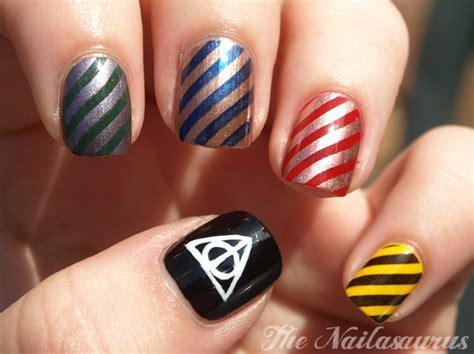Gryffindor Nail