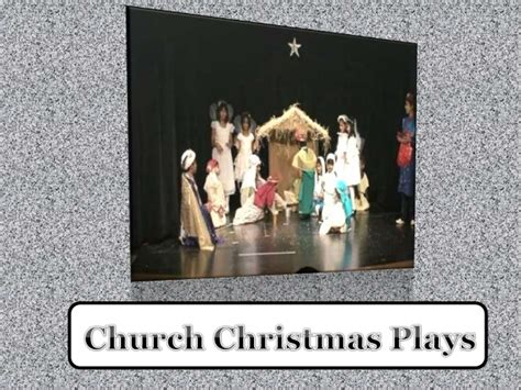church christmas plays