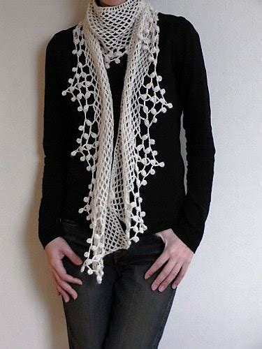 html pattern ie how to knit easy snow scarf for women crochet pattern