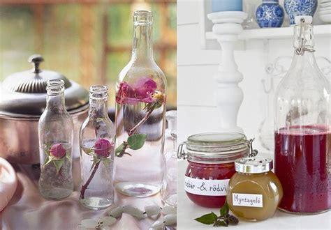 decorar botellas y tarros de cristal 31 propuestas para decorar con botellas y tarros de