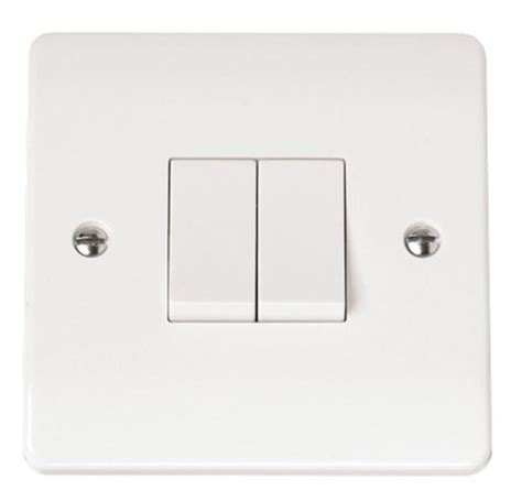 click light switch click mode white plate switches