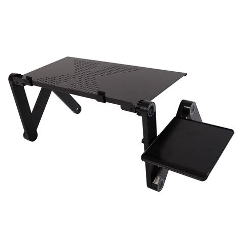 360 176 folding adjustable laptop notebook desk table stand bed tray w mouse tray 692752862038 ebay