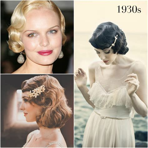 1930s hairstyles history vintage wedding hairstyles a brief history percy handmade