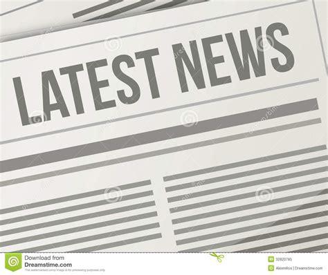 design graphic news latest news closeup illustration design royalty free stock
