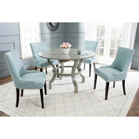 gray dining table safavieh ludlow ash gray dining table amh6644b the home