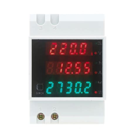 Voltmeter Koso R25 R3 Yamaha ac80 300v 100a multi functional voltmeter ammeter digital