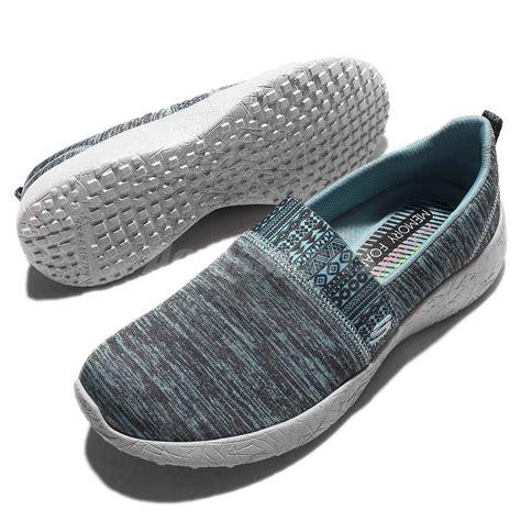 Sepatu Skechers Burst Blown Away skechers burst blown away blue white womens walking shoes
