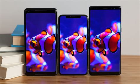oled display test das iphone x schl 228 gt das galaxy note 8 und pixel 2 xl macerkopf