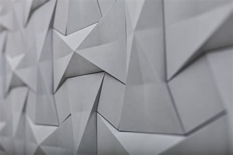 Concrete Origami - concurrent constellations contemporary concrete tiles by