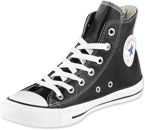 Converse High Convers Allstar converse all hi leather shoes black