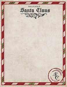 Free Santa Letter Template Printable Christmas Freebies Letters From Santa Printables