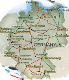 Germany Train Map by Map Germany 1940